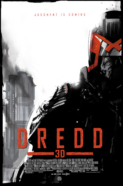 Dredd 3D Screen Print by Jock