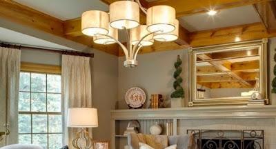 Desain Lampu Ruang Tamu Modern