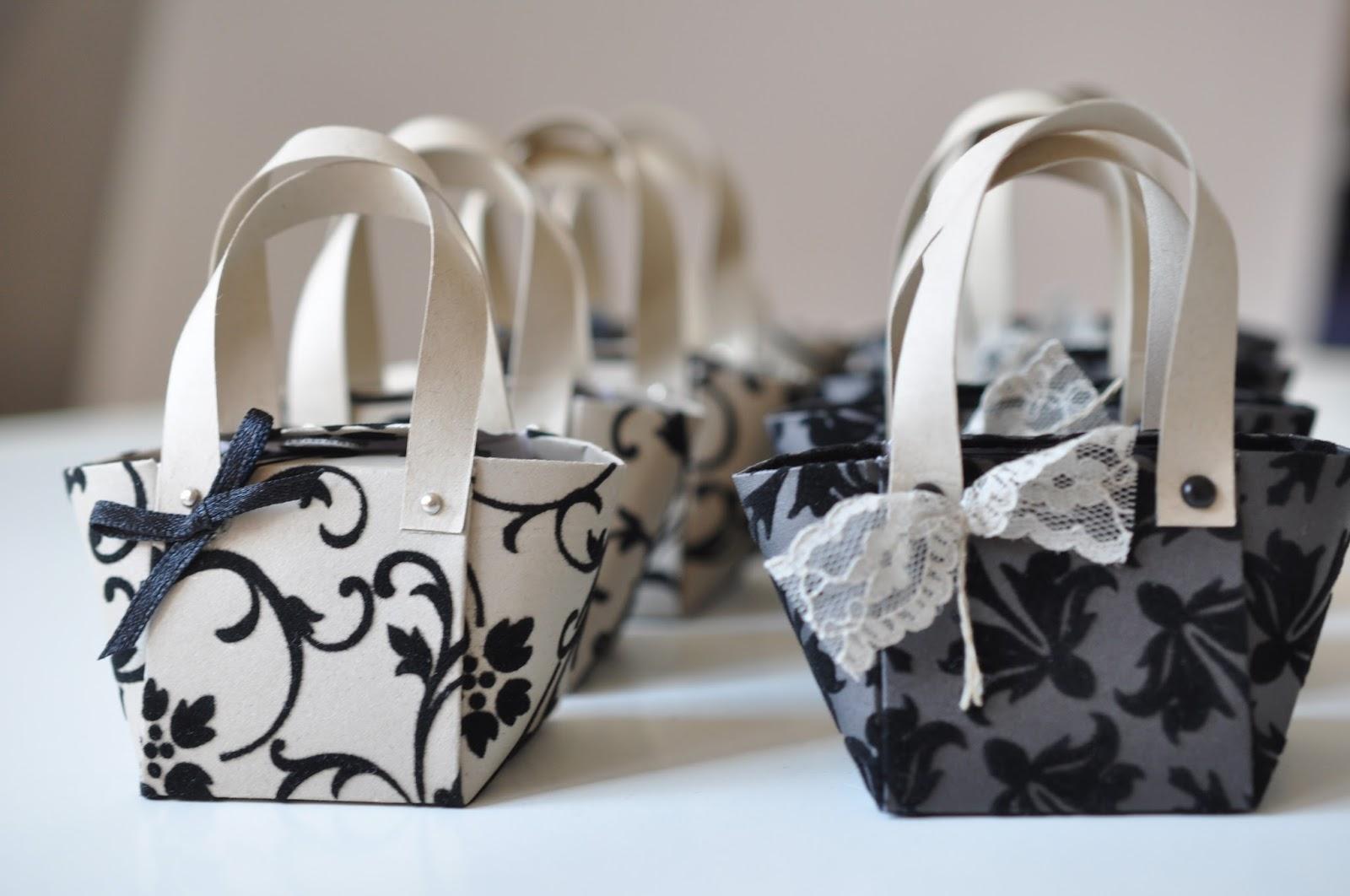 handtasche aus papier falten