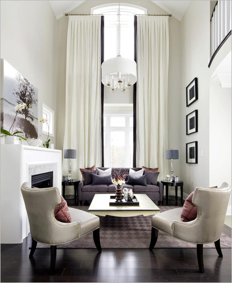 Living Room: Modern Furniture: 2013 Luxury Living Room Curtains Designs