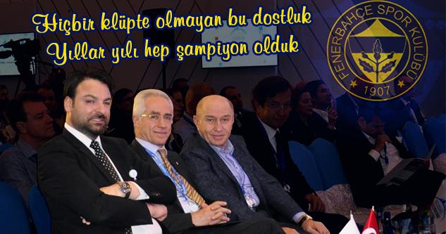 Uludağ Ekonomi Zirvesi'nin Fenerbahçe Grubu