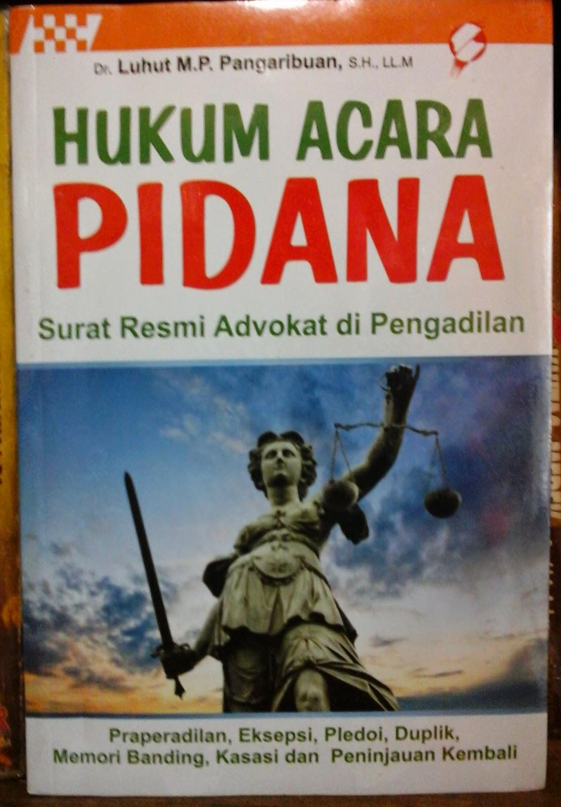 Buku Hukum Acara Pidana