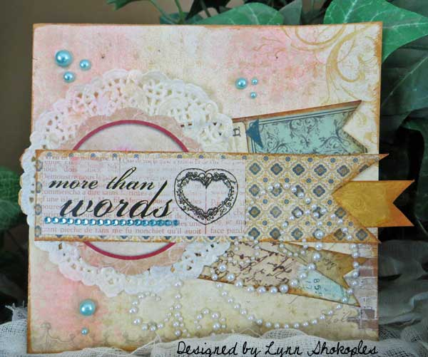 Wedding Cards by Lynn Shokoples for BoBunny featuring the Juliet Collection