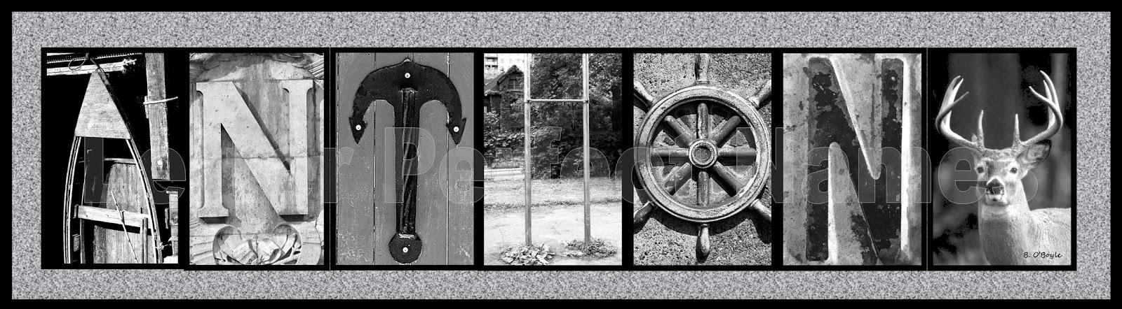 Assignment 3 Alphabet Photography Anthony Prima