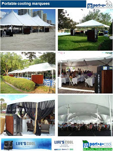 Marquee and event cooling