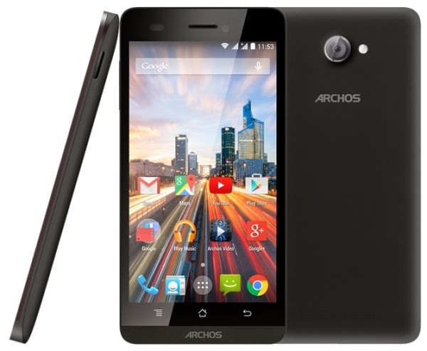 Archos Official Launch of 50B Smartphone at CES 2015