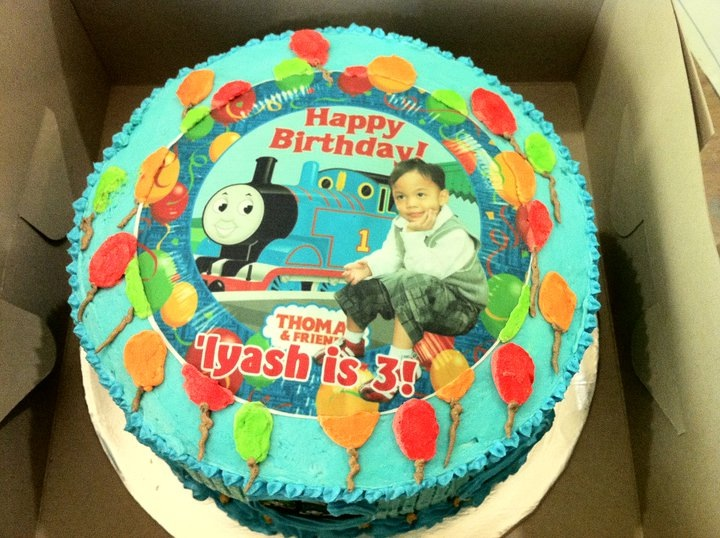 Noribakes4u We Are Now In Labuan Thomas N Friends Theme Cake