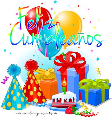 Postal de Cumpleaños con mensaje gratis para compartir