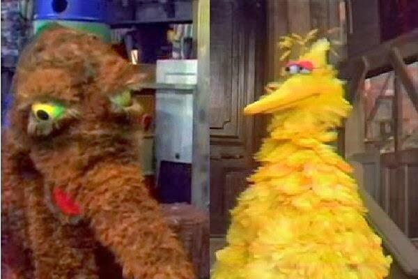 Sesame Blog: Why IS Big Bird so big? Y Dog Names