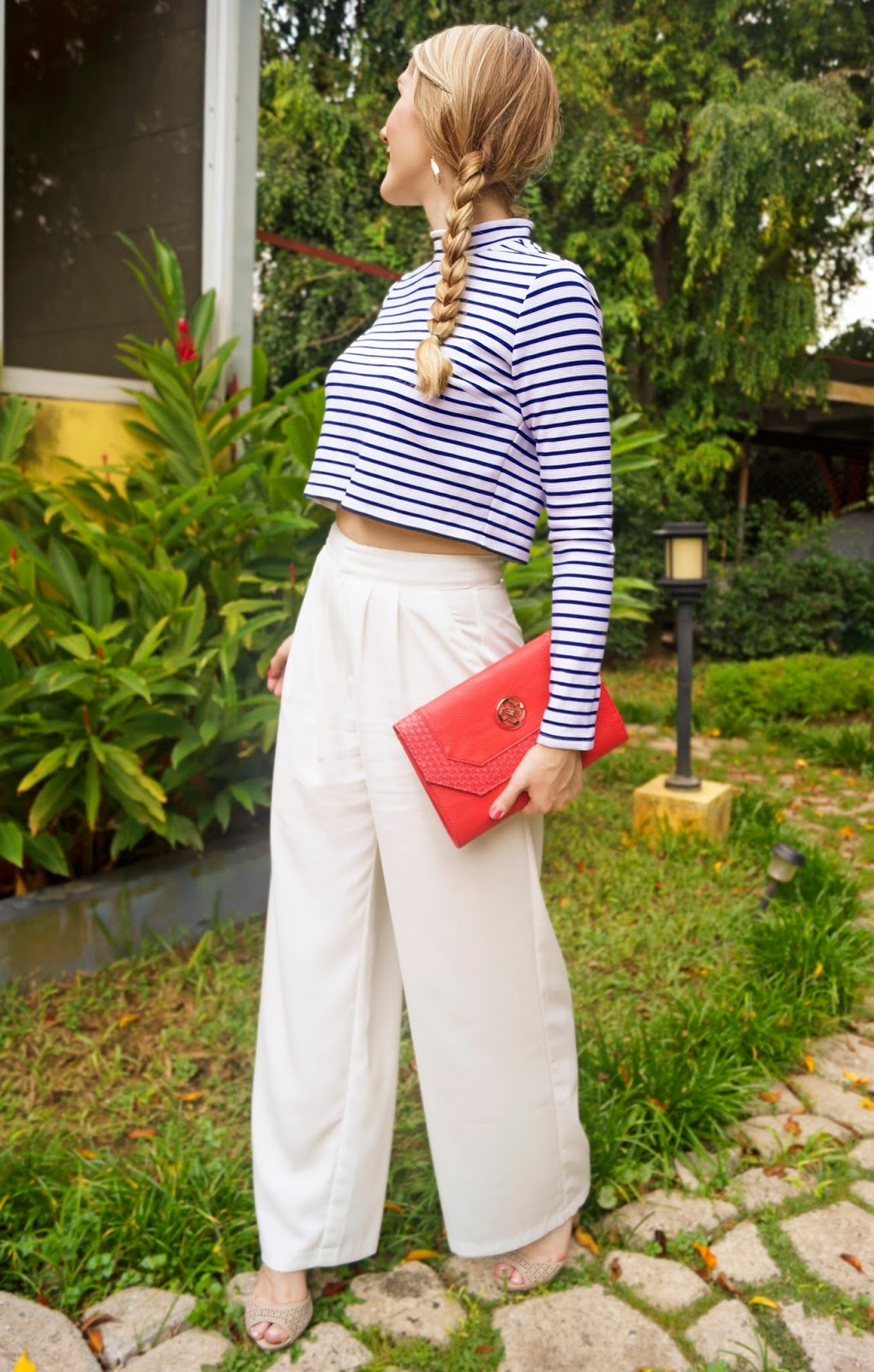 Nautical Outfit in stripes