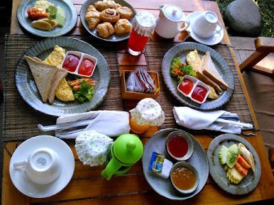 desayuno ubud padi villas