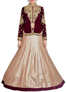 Pink And Ferozi Net Lehenga | Wine And Beige Royal Bridal Lehenga