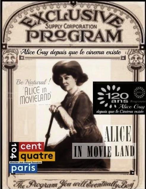 """""""Gaumont 120 ans; Alice Guy depuis que le cinéma existe"""" Exposition au Cent-Quatre Paris Studio L.G"""