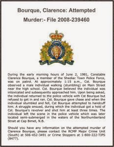 NB RCMP Unsolved Crimes