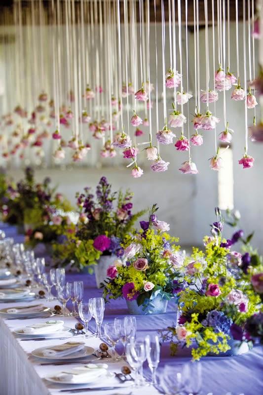 Elegant Purple Wedding Themes Spice Up Your Big Day