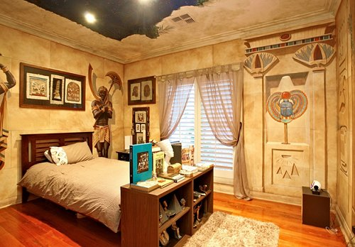 Decorating theme bedrooms maries manor egyptian for Ancient egypt decoration