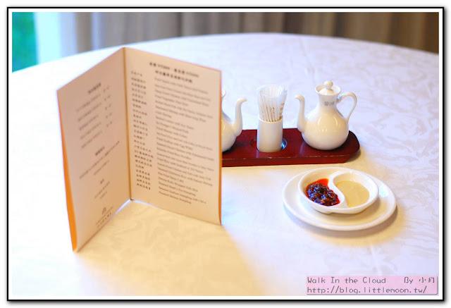 明宮粵菜廳 - 單點菜單與醬料碟
