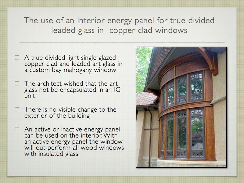 ... True Divided Light Windows and Maintain and Increase Energy Savings