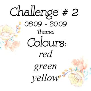 Scrap & Craft Challenge 2 - Colours