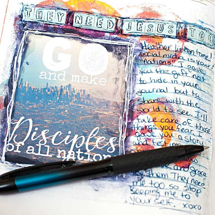 Mixed Media Art Journaling Bible | Last chance Truth Scrap Promo!