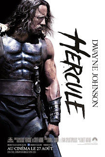 Hercules starring Dwayne Johnson French poster