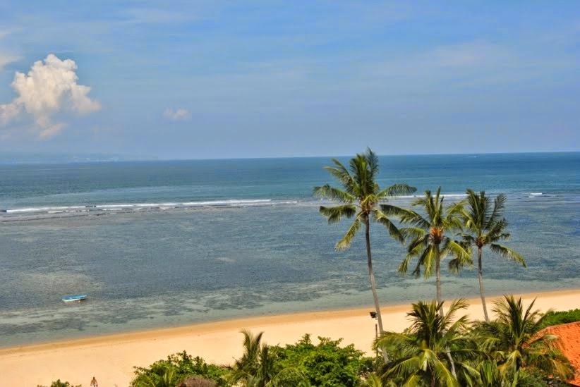 sejarah gambar keindahan pantai sanur bali