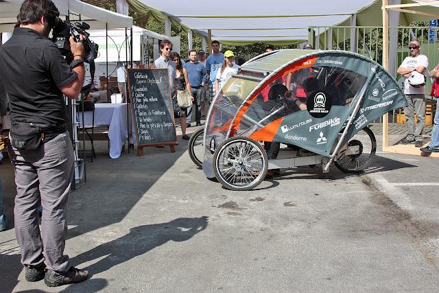 Chilenos criam triciclo solar