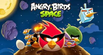 لعبة الطيور الغاضبة اونلاين  Angry Birds space Online