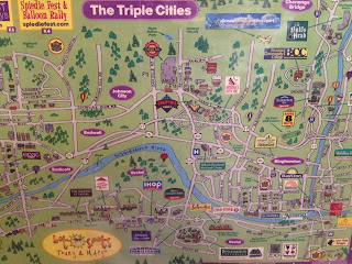 Confluence Running Triple Cities Area Binghamton NY Map