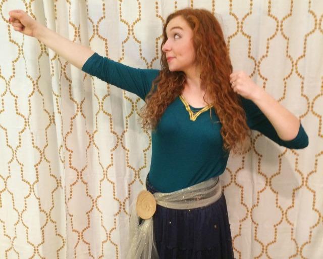 how to make a merida costume