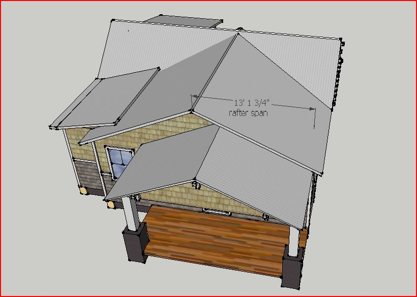 how to add a gable yo your roof