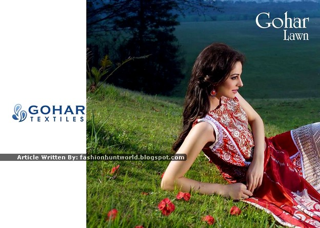 Gohar Lawn Collection 2015-2016 - 04
