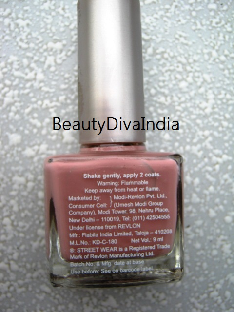 STREET WEAR NAIL COLOR- MAUVE MAGIC 38- NOTD & REVIEW | BEAUTYDIVA INDIA