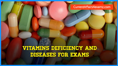 Vitamins Deficiency and Diseases