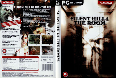 Silent Hill 4 The Room PC DVD Capa