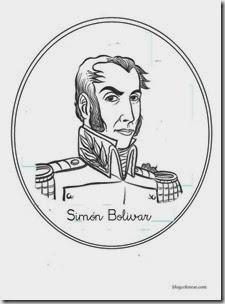 Imagenes Para Colorear De Simon Bolivar