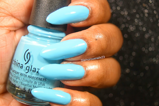 "China Glaze ""Uv Meant To Be"" Swatch"