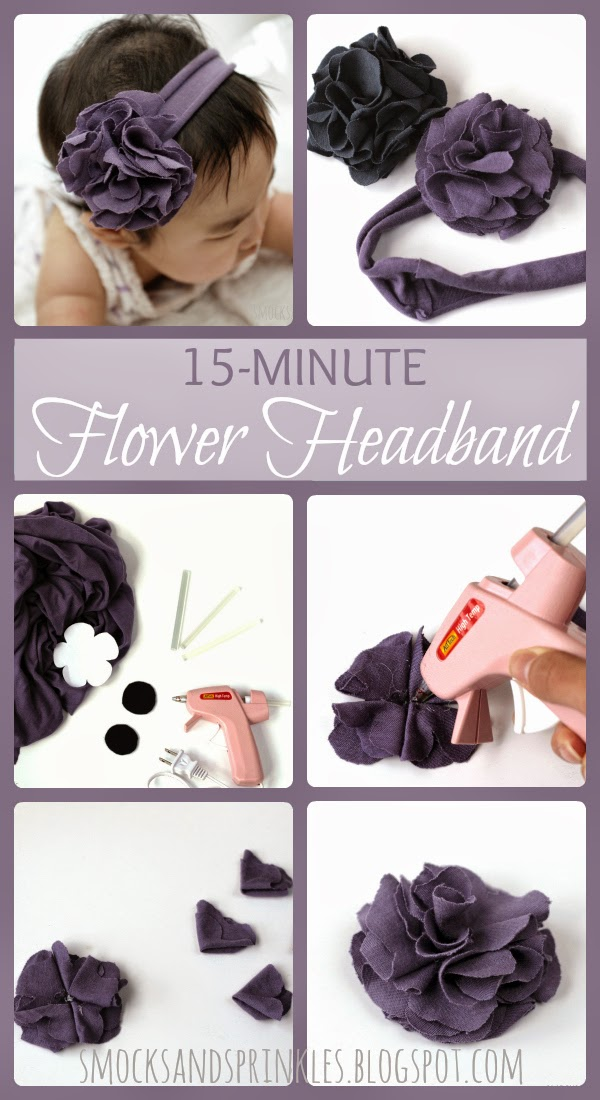Fast easy hairband