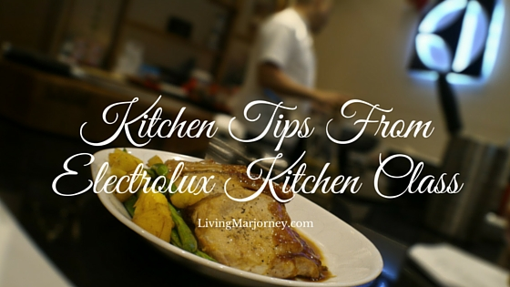 Kitchen Tips From Electrolux Kitchen Class