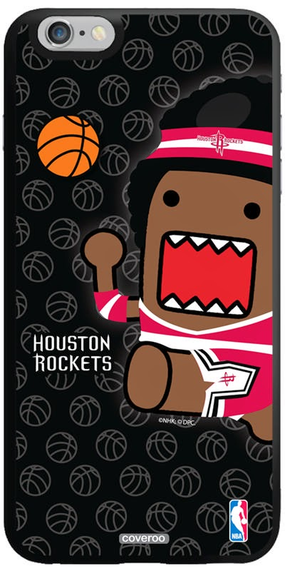 Houston Rockets NBA Domo iPhone 6 Plus Case