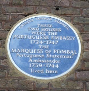 A Blue Plaque