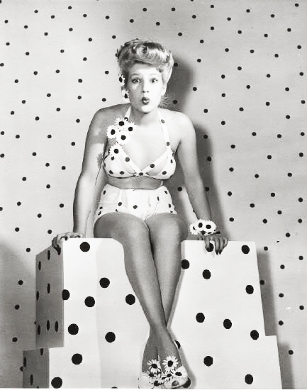 What is good? Summer Brief: Concept: Polka dots are good...
