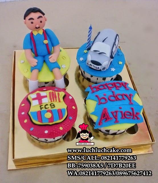 Cupcake Barcelona Untuk Keluarga Daerah Surabaya - Sidoarjo