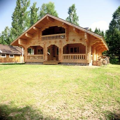 Case in legno prefabbricate for Case di tronchi di blocchi di legno