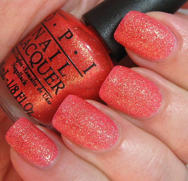 OPI Bond Girls Liquid Sand Jinx