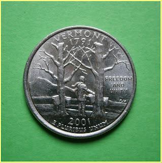 Quarter Vermont 2001