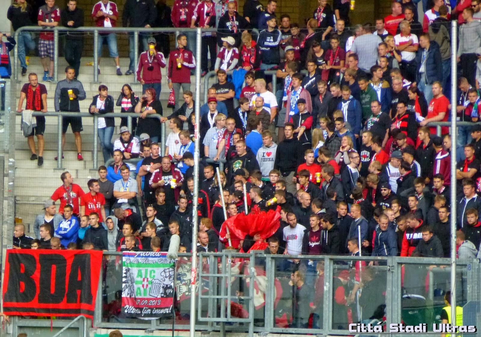 Bda Nürnberg città stadi ultras msv duisburg 1 fc nürnberg