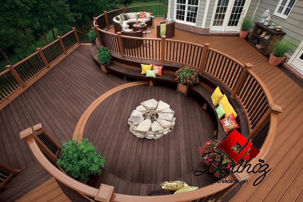 Deck seating ideas
