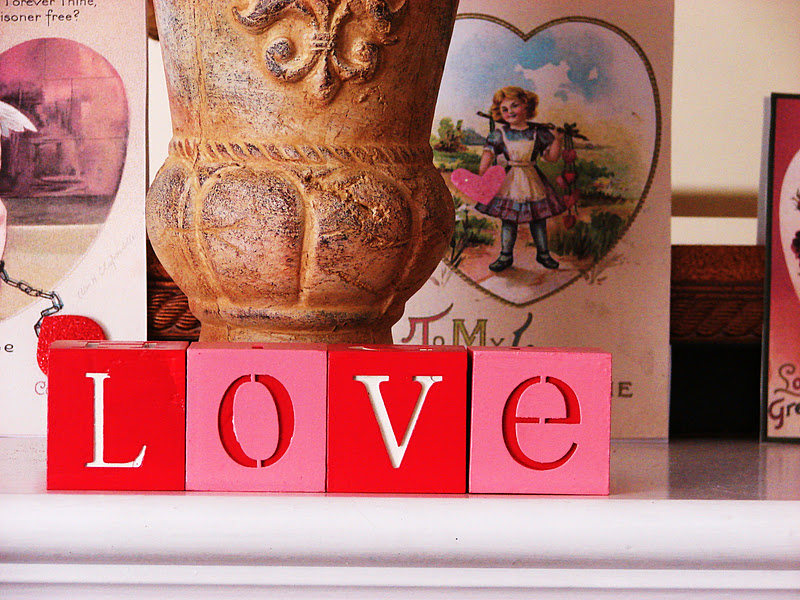Homespun With Love Valentine 39 S Day Decor