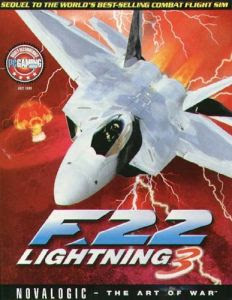 7094 F 22 Lightning 3 PC Game